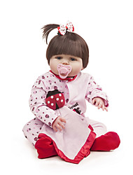 cheap -Reborn Doll Baby Girl 22 inch Full Body Silicone - Kids / Teen Kid's Girls' Toy Gift