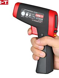 Недорогие -uni-t ut303a бесконтактный лазерный пистолет инфракрасный ик-термометр жк-цифровой дисплей -32650 градусов инфракрасный тестер температуры