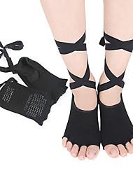 abordables -1 paire Femme Chaussettes Standard Couleur Pleine Leg Shaping Style Simple Polyester EU36-EU42