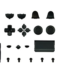 cheap -Game Controller Replacement Part Kits For PS4 Handle Replacement Button Silicone / PVC(PolyVinyl Chloride) / ABS