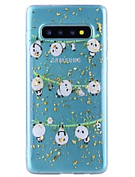 cheap -Case For Samsung Galaxy Note 9 / Note 8 Shockproof / Transparent / Pattern Back Cover Panda Soft TPU