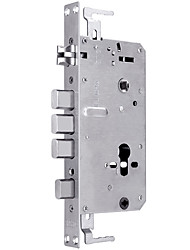 cheap -Stainless Steel Double Fast Double Live 6068 Square Head Cylinder Bully Intelligent Security Door Automatic Steel 24*240 Square Head Lock Body Has Hook