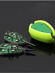 cheap -Weighted Method Feeders Flat In-Line Set with Easy Release Bait Mould 15g 20g24g30g method feeder