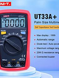 Недорогие -uni-t ut33a + цифровой мультиметр ручной цифровой дисплей с подсветкой для офиса и обучения