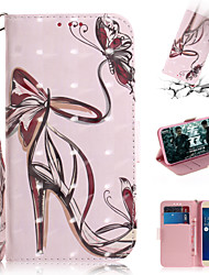 cheap -Case For Asus ASUS Zenfone max M1 ZB555KL Wallet / Card Holder / with Stand Full Body Cases Sexy Lady PU Leather