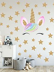 cheap -Decorative Wall Stickers - Plane Wall Stickers / Animal Wall Stickers Animals / 3D Bedroom / Kids Room