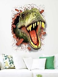 cheap -3D Dinosaur Wall Sticker Paper Wall Poster Dirtproof