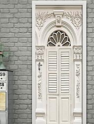 Недорогие -Декоративные наклейки на стены - 3D наклейки 3D В помещении
