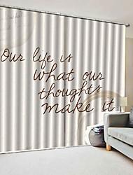 Недорогие -Горячие продажи недорогие 3d цифровая печать роскошные шторы затемнения водонепроницаемый 100% полиэстер ткань для спальни гостиная