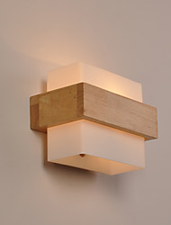 cheap -Minimalist Wall Sconce New Design Modern Contemporary / Nordic Style Flush Mount wall Lights Study Room / Office / Bedroom Metal Wall Light