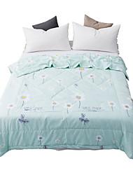 abordables -Confortable - 1 Couvre-lit Eté Polyester Fleur / Imprimé