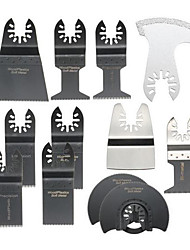 cheap -12pcs Saw Blades Oscillating Multitool for Fein Bosch Porter Dremel Ridgid Oscillating Tools