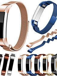 abordables -Bracelet de Montre  pour Fitbit Alta HR / Fitbit Alta Fitbit Bracelet Milanais Acier Inoxydable Sangle de Poignet