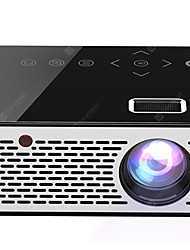 cheap -T200 Pocket Mini LED LCD Projector Touch Sensitive Buttons Home Theater Cinema HDMI/AV/USB proyector Beamer 1080P HD Portable