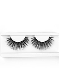cheap -Neitsi One Pair 6D Synthetic False Eyelashes Black Women Girls Makeup Party Eyelashes Extensions G718
