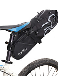cheap -B-SOUL 12 L Bike Saddle Bag Large Capacity Waterproof Reflective Strips Bike Bag Polyester PVC Bicycle Bag Cycle Bag Road Bike Mountain Bike MTB