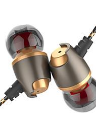 cheap -LITBest In Ear Wired Headphones 6D Stereo Earphone Silica Gel Earbud Earphone Stereo Headset