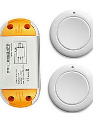 Недорогие -AC220V 1-канальный беспроводной пульт дистанционного управления / ac85v-250v ac110v свет / лампа включения / выключения 10a реле приемник 433 МГц