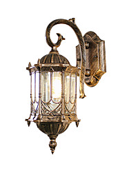Недорогие -Новый дизайн современный современный настенный светильник для наружного / наружного освещения алюминиевый настенный светильник 110-120 В / 220-240 В 60 Вт