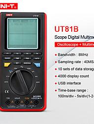 cheap -Mini OscilloscopeHandheld Multimeter UNIT UT81B/UT81C Capacitance Volt Ampere Ohm meter Real-Time Sample Rate 8-16MHz 40-80MS/s