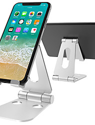 cheap -Portable Phone Stand Aluminum Adjustable Desktop Holder Dock for iPad Phone Switch Tablet Stand