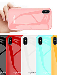 cheap -Tempered Glass Phone Case for iPhone XS Max XR Protective Mobile Phone Cover Cases for iPhone XS X 8 Plus 8 7 Plus 7 6 Plus 6