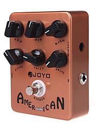 Недорогие -Joyo JF-14 американский звук динамик симулятор электрогитара один блок гитара педаль эффектов
