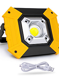 cheap -1pc 20W COB Lighting Usb Charging Outdoor Camping Light Emergency Portable Light Mobile Power Search Lawn Lamp