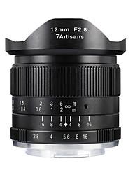 Недорогие -7Artisans Объективы для камер 7Artisans 12mmF2.8EOSM-BforФотоаппарат