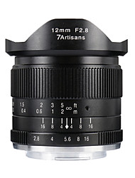 Недорогие -7Artisans Объективы для камер 7Artisnas12mmF2.8M43-BforФотоаппарат