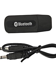 cheap -(Smart & Portable) MINI USB Bluetooth 3.5mm Stereo Audio Music Receiver & Adapter for Home Stereo , Portable Speakers , Headphones , Car (AUX In) Music Sound Systems , and more 3.5mm Media Devices