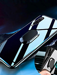 cheap -Tempered Glass Case for Samsung Galaxy A70 A50 A40 A30 A20 A10 Case Luxury Hard Tempered Glass With Stand Ring Magnet Protective Back Cover Case for samsung A9 2018 A7 2018