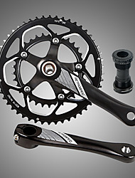 cheap -Cranksets For Road Bike / Mountain Bike MTB 7075 Aluminium Alloy Reduces Chafing / Durable / Easy to Install Cycling Bicycle Black