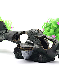 cheap -Fish Tank Aquarium Decoration Home Decoration Ornament Bronze Non-toxic & Tasteless Decoration Resin 1 23*12*9 cm