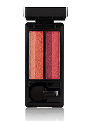 Недорогие -2 цвета Тени Матовое стекло Тени для век Pro Прост в применении Офис Повседневный макияж косметический Подарок