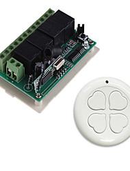 Недорогие -Smart Switch AK-RK04+AK-S0S04B для Повседневные / Автомобиль / двор Креатив / Многофункциональный / Простота установки Пульт управления Беспроводное 12 V