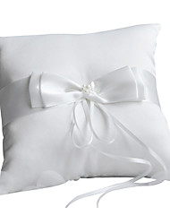 cheap -Terylene / Plain Sateen Bowknot Satin Ring Pillow Pillow All Seasons