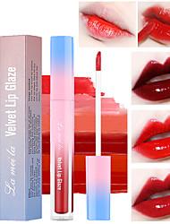 cheap -6 Color Lasting Waterproof Moisturizing Matte Lip Gloss Faded Velvet Lip Glaze Moisturizing Lip Balm