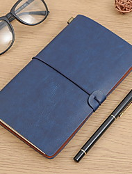 cheap -Creative Notebooks Paper / Leather / suede 90 pcs 2 pcs