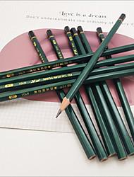 cheap -2 pcs 2B Pencil Dry Eraseable 2B Carbide