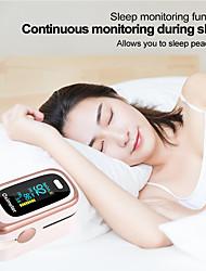 cheap -RZ Fingertip Pulse Oximeter oximetro Portable Blood Pressure Health Care PR Alarm Settingmedical equipment M170