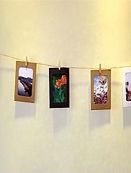 Недорогие -Современный современный деревянный Спецификация Рамки для картин Настенные украшения, 1шт Рамки для картин