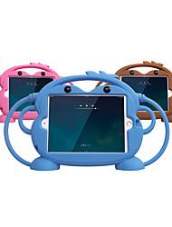cheap -Case For Apple iPad Mini 5 / iPad Air / iPad (2018) Shockproof / Child Safe Case Back Cover Solid Colored / Animal / 3D Cartoon Silica Gel / iPad (2017)