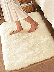 cheap -Soft Fluffy Rugs Anti Skid Shaggy Rug Dining Room Home Bedroom Carpet Floor Mat