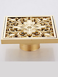 cheap -Bath Ensemble Creative Contemporary Brass 1pc Floor Mounted