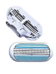 Недорогие -Руководство для бритья / Аксессуары для бритья Зона подмышек Формы для нарезки Влажное / сухое бритье / Ультралегкий (UL) Влажное и сухое бритье Пластик / Нержавеющая сталь