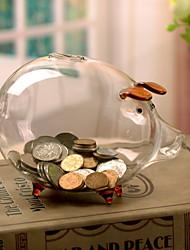 Недорогие -Декоративные объекты, стекло Простой стиль для Украшение дома Дары 2pcs