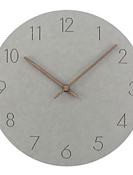 Недорогие -12-дюймовые деревянные настенные часы простые современные часы художественные деревянные настенные часы домашнего декора