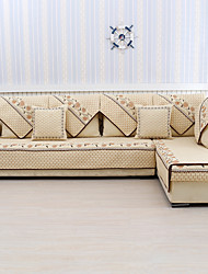 cheap -Sofa Cushion Contemporary Embroidery Polyester Slipcovers