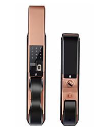 cheap -Factory OEM RX0807 Aluminium alloy Intelligent Lock Smart Home Security System RFID / Fingerprint unlocking / Password unlocking Home / Office / Bedroom / Apartment Security Door / Wooden Door
